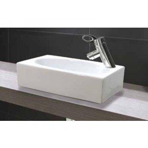 Aquatek TINY 45,5x25,5 cm Obdélníkové umyvadlo na desku