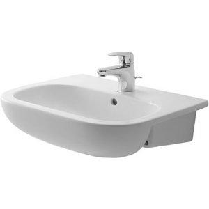 DURAVIT D-Code Polozápustné umývadlo 550 x 440, rôzne varianty