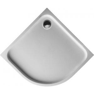 DURAVIT D-Code 720108 Sprchová vanička čtvrtkruh
