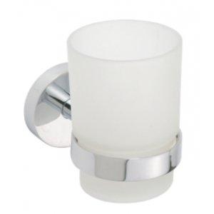 Bemeta OMEGA Držiak kefiek, poháre 70x95x105 mm, chróm 104110012