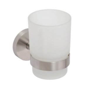 Bemeta NEO Držiak kefiek, poháre 70x95x105 mm, nerez 104110015