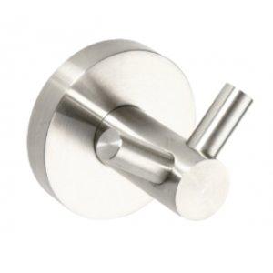 Bemeta NEO Vešiačik dvojitý 55x55x50 mm, nerez 104106035