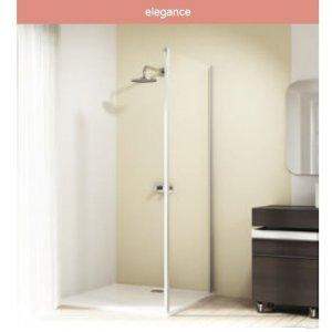 Huppe Design elegance Bočná stena pre posuvné dvere 2-dielne s pevnými segmentami/a protisegmentom rôzne typy
