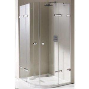 Huppe Enjoy pure 2-krídlové dvere s pevnými segmentami rôzne typy
