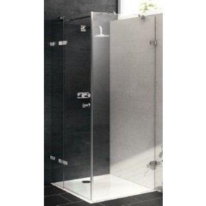 Huppe Enjoy pure Krídlové dvere s pevným segmentom a bočnou stenou rôzne typy