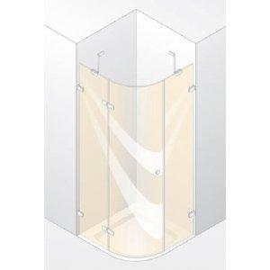 Huppe Enjoy pure 1-krídlové dvere s pevnými segmentami rôzne prevedenie