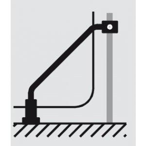 HÜPPE Design elegance Doplňková sada pro U-kabinu s dveřmi s pevným segmentem různé typy