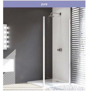 Huppe Design pure Bočná stena pre posuvné dvere 2-dielne s pevnými segmentami/a protisegmentom rôzne typy