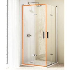 HÜPPE Design elegance 4-úhelník Křídlové sklapovací dveře různé typy