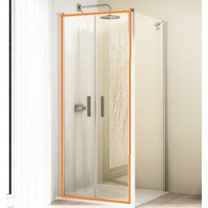 HÜPPE Design elegance 4-úhelník Lítací dveře pro boční stěnu různé typy