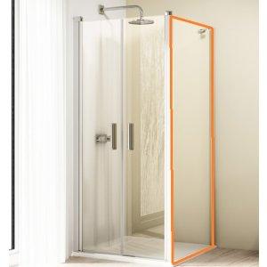 HÜPPE Design elegance 4-úhelník Boční stěna pro lítací dveře různé typy