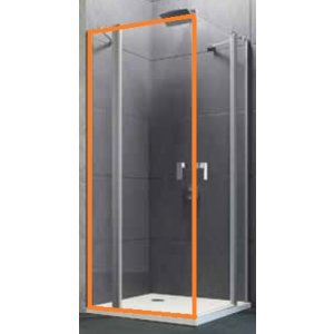 Huppe Design pure Krídlové dvere s pevným segmentom rôzne typy