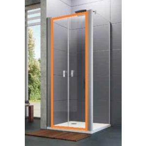 HÜPPE Design pure 4-úhelník Lítací dveře pro boční stěnu různé typy