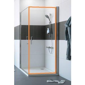 HUPPE Classics 2 4-úhelník Křídlové dveře pro boční stěnu / rohový vstup různé typy