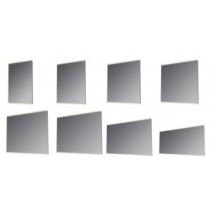 Kronzi Element 13 Zrkadlo s podsvietením LED diódami rôzne rozmery