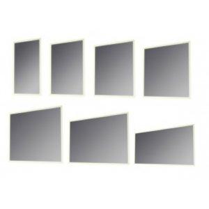 Kronzi Pro LUNA Zrkadlo s bielym LED podsvietením rôzne rozmery
