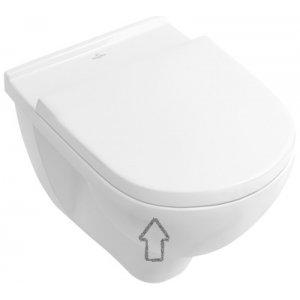 Villeroy & Boch O. Novo WC doska s poklopom klasické sklápanie 9M396101