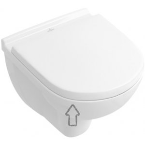 Villeroy & Boch O. Novo WC doska s poklopom klasické sklápanie 9M406101