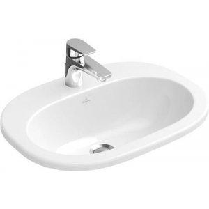 Villeroy & Boch O. Novo zápustné umývadlo 560x405 mm, keramika, rôzne prevedenia