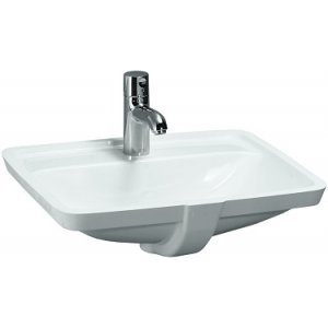 Laufen PRO S Vstavané umývadlo keramika, 530x405 mm, rôzne prevedenia