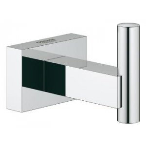 Grohe Essentials Cube chrom 40511001 Háček na koupací plášť