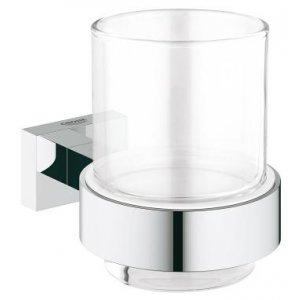 Grohe Essentials Cube chrom 40755001 Pohárek s držákem