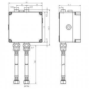 IDEAL Standard CERAPLUS Elektronický pripojovací box (na batérie) Neutrál A3810NU