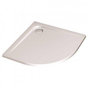 IDEAL Standard ULTRA FLAT Štvrťkruhová sprchová vanička Biela