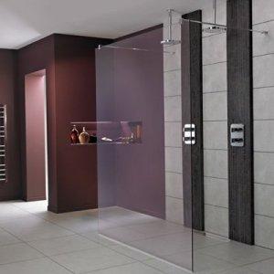 IDEAL Standard SYNERGY Wetroom stena Lesklá strieborná