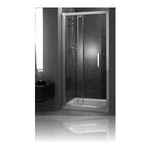 IDEAL Standard SYNERGY Zalamovacie sprchové dvere Lesklá strieborná