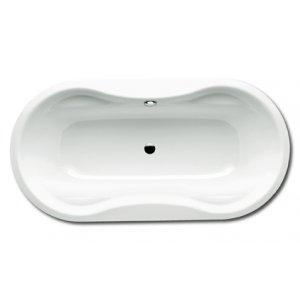 Kaldewei Mega Duo Oval Oválna vaňa 1800×900×450 mm, smaltovaná oceľ, biela, rôzne prevedenia