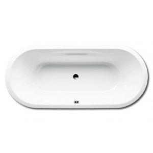 Kaldewei Vaio Duo Oval Oválna vaňa 1800×800×430 mm, smaltovaná oceľ, biela, rôzne prevedenia