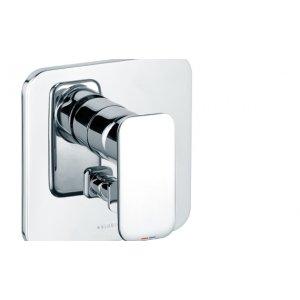 KLUDI E2 Podomietková vaňová a sprchová jednopáková batéria chróm 496500575