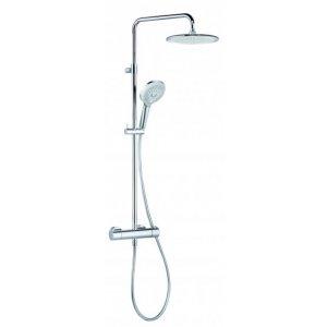 KLUDI FRESHLINE Thermostat Dual Shower-System chróm 6709205-00