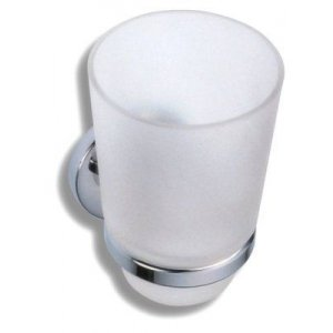Novaservis Metalia 1 Držiak kefiek sklo chróm 6106.0