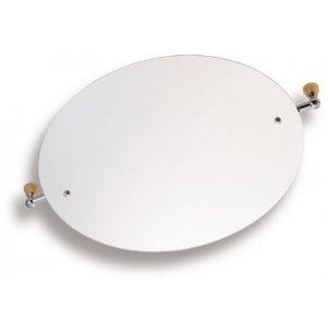 Novaservis Metalia 3 Zrkadlo ovál 60 x 50 cm sklo 6317