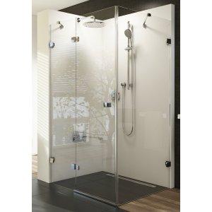 Ravak Brilliant Sprchové dvere a pevná stena rôzne rozmery a prevedenia BSDPS