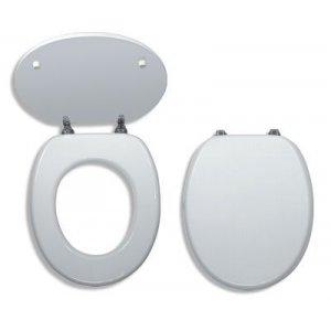 Novaservis WC dosky - Prestige Biela MDF lak WC/BILAMDF
