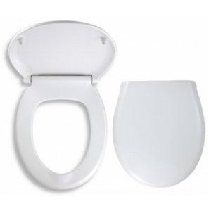 Novaservis WC Sedátka Prestige Pomaly padajúce sedátko plast-biela WC/SOFTDPLAST
