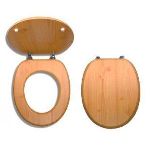 Novaservis WC dosky - Prestige Borovica dyhované drevo WC/BOROVICE