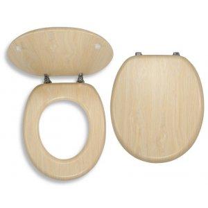 Novaservis WC dosky - Prestige Breza dyhované drevo WC/BRIZA