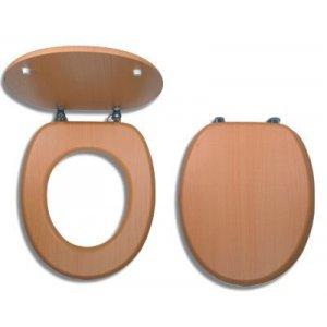 Novaservis WC dosky - Prestige Buk červený dyhované drevo WC/BUK