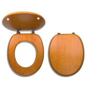 Novaservis WC dosky - Prestige Orech svetlý dyhované drevo WC/ORECH