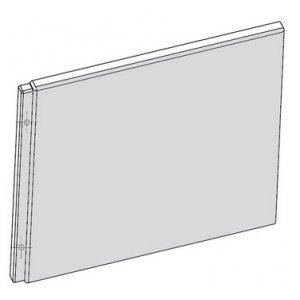 Ravak Chrome Panel bočný biela, rôzne rozmery A