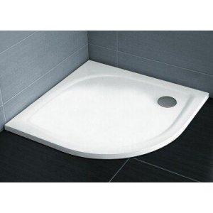 Ravak Elipso Pro FLAT  Sprchová štvrťkruhová vanička rôzne rozmery, liaty mramor