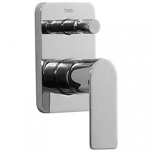 Tres Loft 200.180.01 Jednopáková baterie podomítková pro vanu-sprchu (20018001)