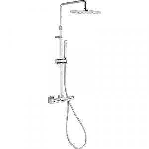Tres Loft 200.312.01 Souprava termostatické baterie pro vanu-sprchu (20031201)
