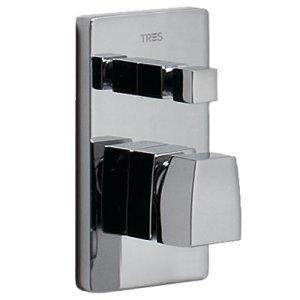 Tres Slim 202.180.02 Jednopáková baterie podomítková pro vanu-sprchu různé varianty