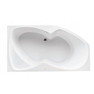 SANTECH Fontana Asymetrická vaňa akrylát, rôzne rozmery a prevedenia