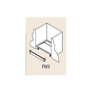 SanSwiss ILA PWII Hliníkový přední panel pro vaničku (obdélníkovou nebo čtvercovou) různé rozměry a provedení